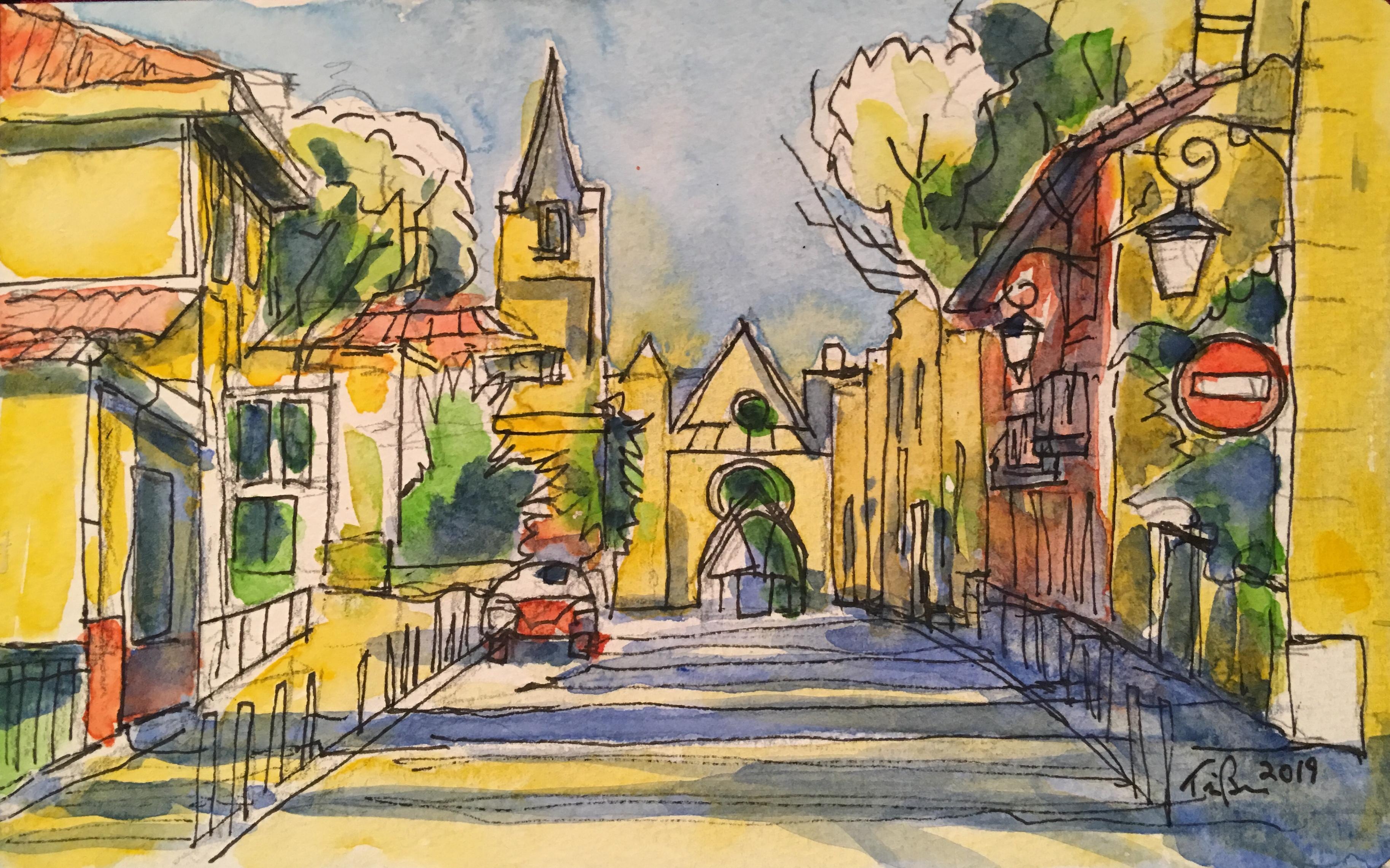 Rue Cardinal, Aix-en-Provence