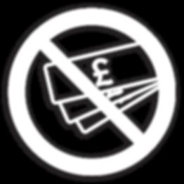 White Anti-counterfeit icon