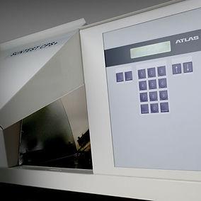 UV Measurement machine In Use