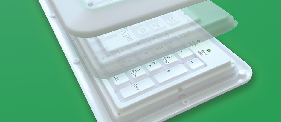 COMPUTER KEYBOARD COVERS ARE ANTIMICROBIAL