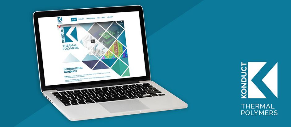 THERMAL CONDUCTIVITY BRAND KONDUCT LAUNCH BRAND NEW WEBSITE