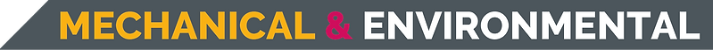 MECHANICAL & ENVIRONMENTAL Banner