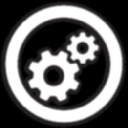 White Mechanical icon
