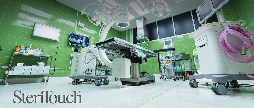 SteSteriTouch antimicrobial technology in surgery equipment