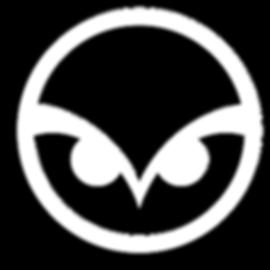 White owl head logo