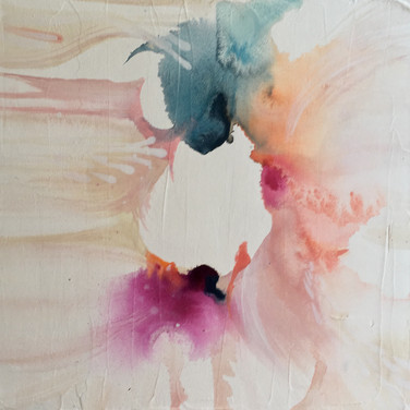 """""""Afternoon Vibes II"""" Acrylic on gallery wrapped canvas by Erin Modglin Art 