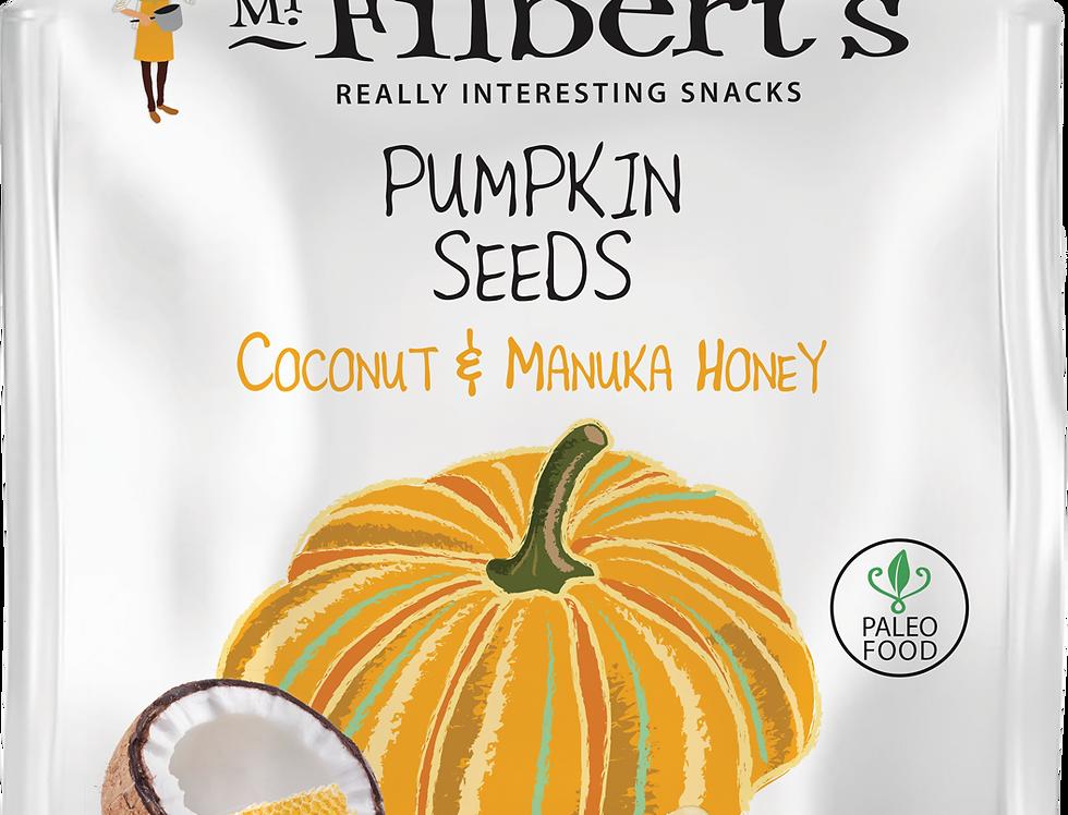 Mr Filbert's - Coconut & Manuka Honey Pumpkin Seeds - 25g
