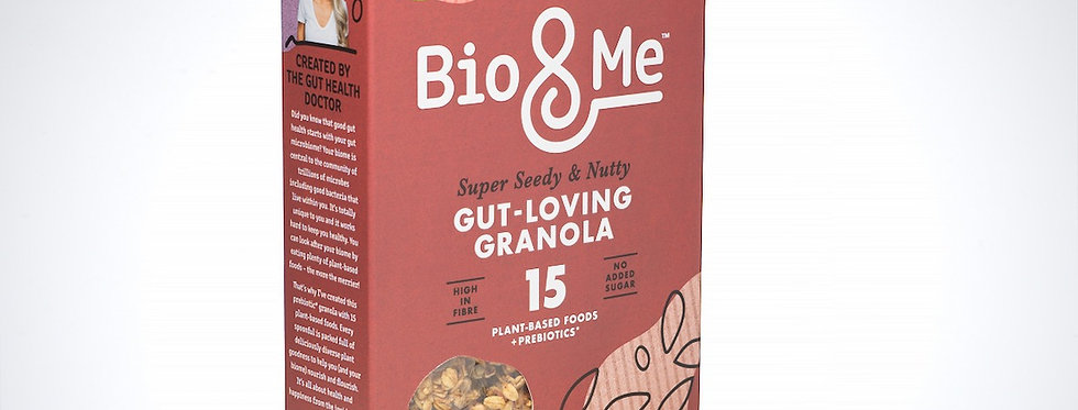 Bio & Me Super Seedy & Nutty Granola - 360g