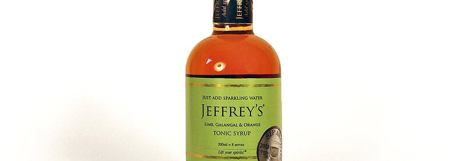 Jeffrey's Tonic - Lime, Galangal & Orange 200ml