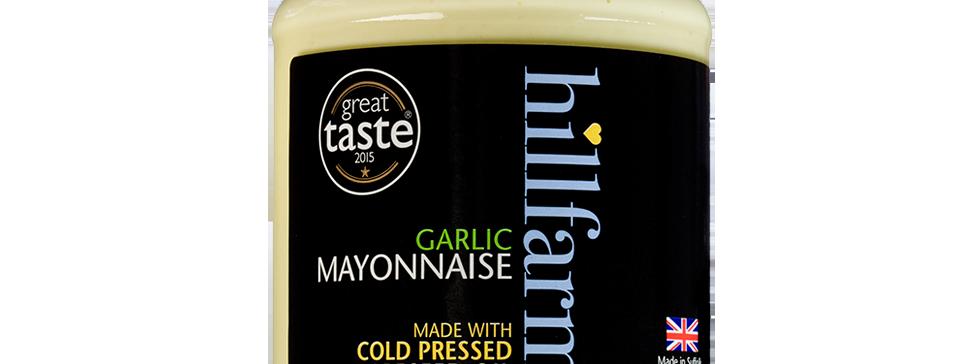Hillfarm Garlic Mayonnaise - 310g
