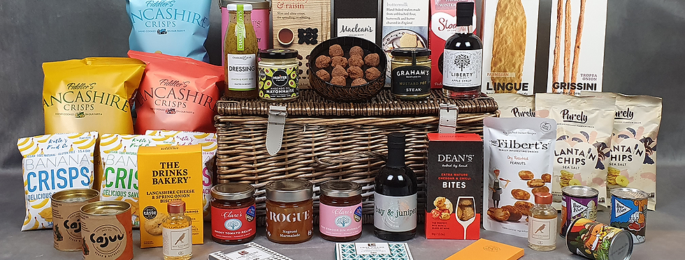 The Fetcham Park House Louis Laguerre Hamper (supplied in a Wicker Hamper)