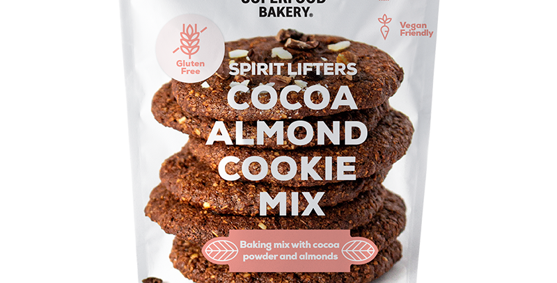 Superfood Bakery - Cocoa, Almond Cookie Mix