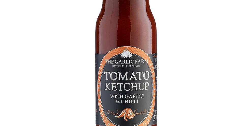 The Garlic Farm - Tomato Ketchup with Garlic and Chilli