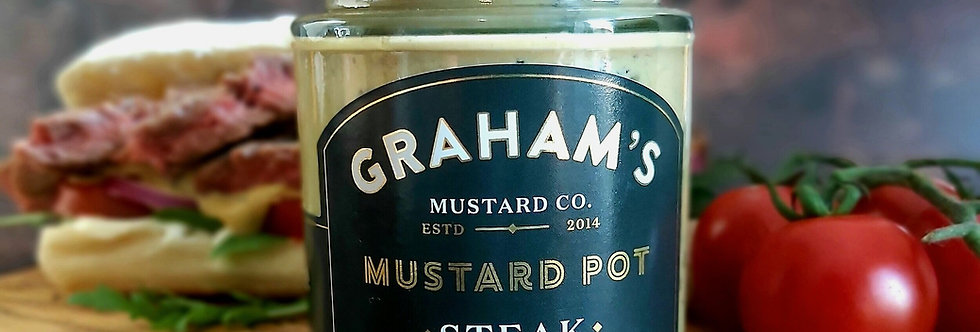 Graham's Steak Mustard - 190g