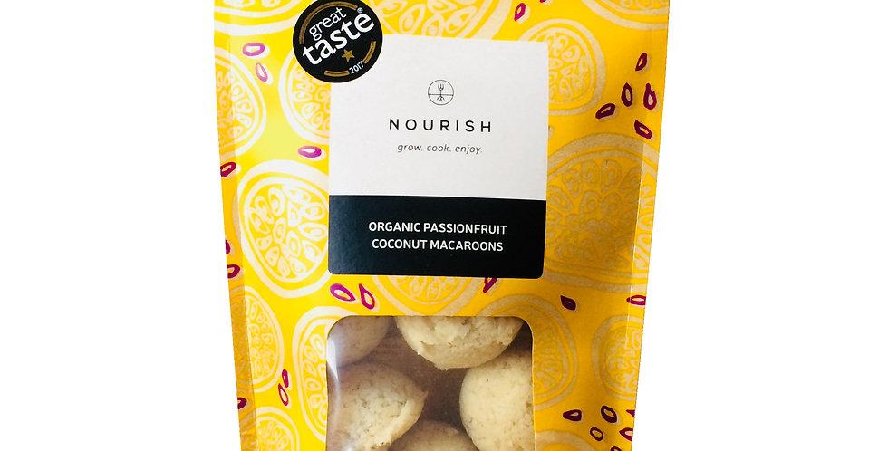 Nourish - Organic Passionfruit Coconut Macaroons - 110g