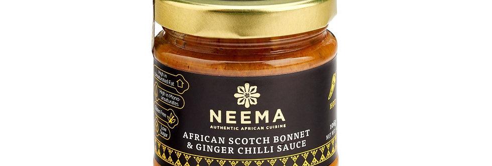 Neema - African Scotch Bonnet & Ginger Chilli Paste - 106g
