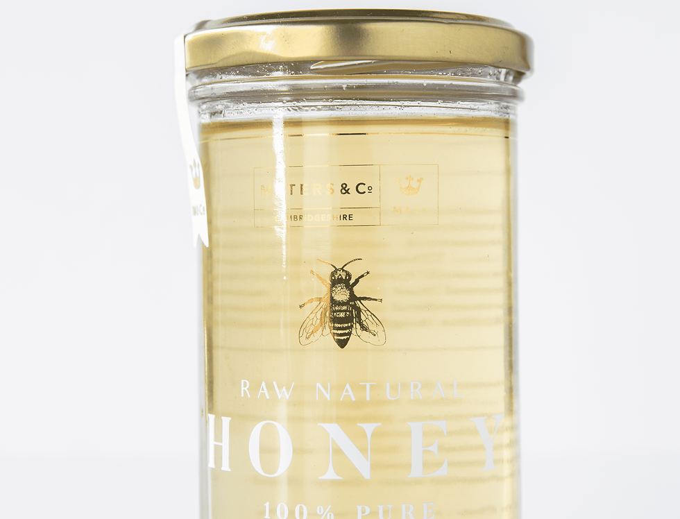 Maters & Co - Raw Cambridgeshire Borage Honey - 325g