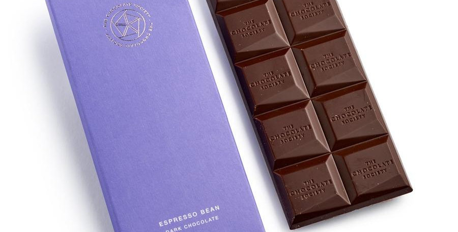 The Chocolate Society - Espresso Coffee Dark Chocolate - 65g