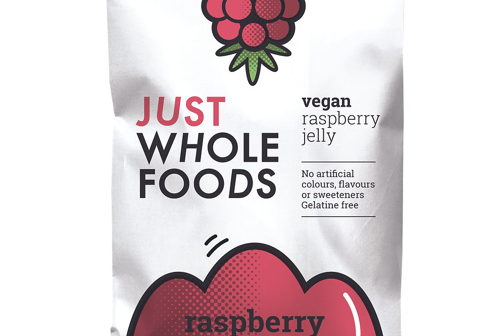 Just Whole Foods Vegan Raspberry Jelly - 85g