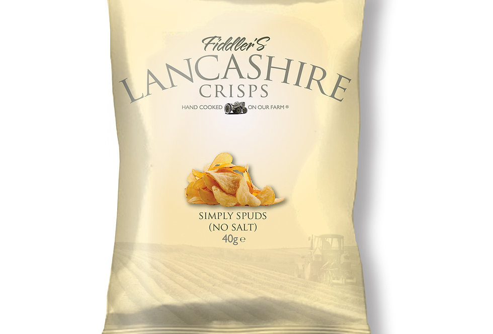 Fiddler's Lancashire Crisps - Simply Potatoes - 150g