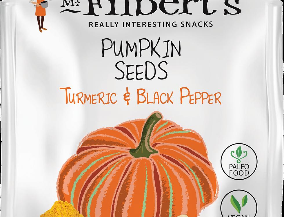 Mr Filbert's - Turmeric & Black Pepper Pumpkin Seeds - 25g