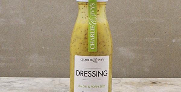 Charlie & Ivy's Lemon & Poppy Seed Dressing - 250ml