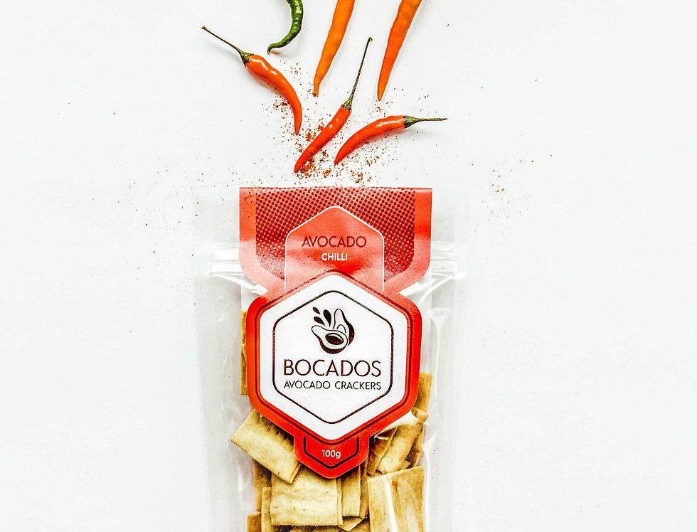 Bocados -Avocado Chilli