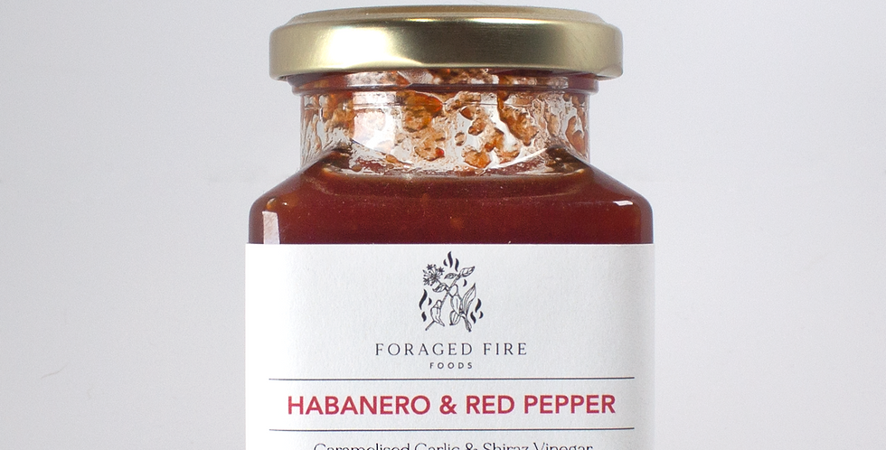 Foraged Fire - Chilli Jam - 200g