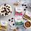Thumbnail: Peakz Mint Chocolate Squares 32g x 6