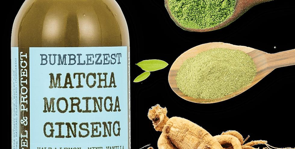 Bumblezest - Matcha, Moringa & Ginseng - 20 x 60ml