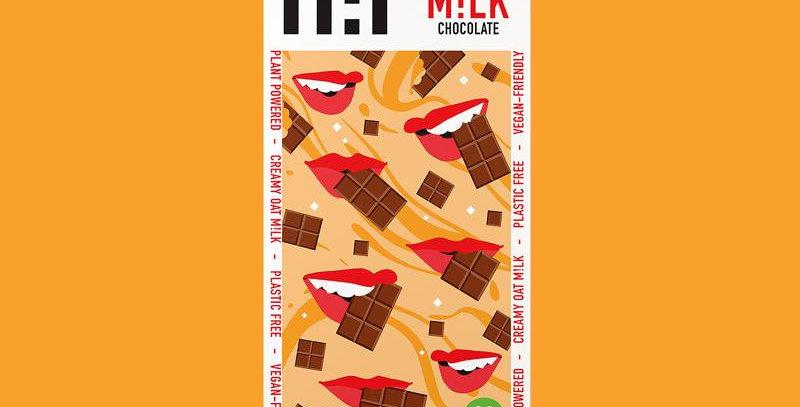 H!P Salted Caramel Oat Milk Chocolate Bar - 70g