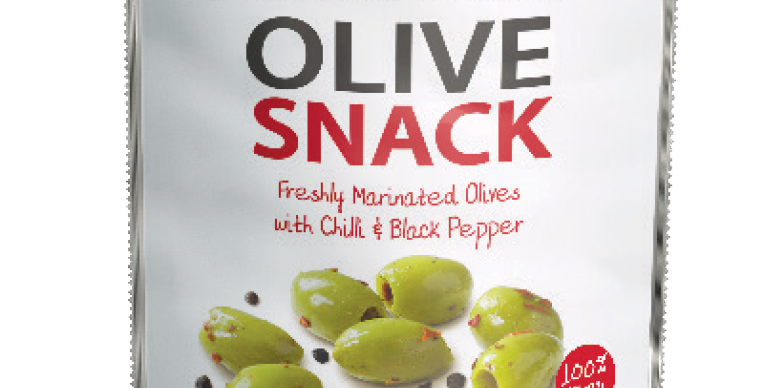 Mr Filbert's - Pitted Halkidiki Olives with Chilli & Black Pepper - 65g