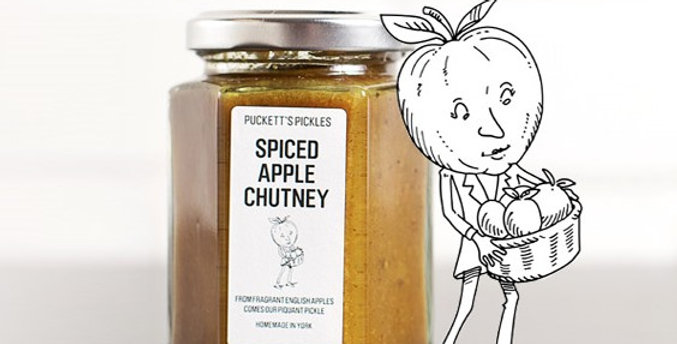 Puckett's Pickles - Spiced Apple Chutney - 200g