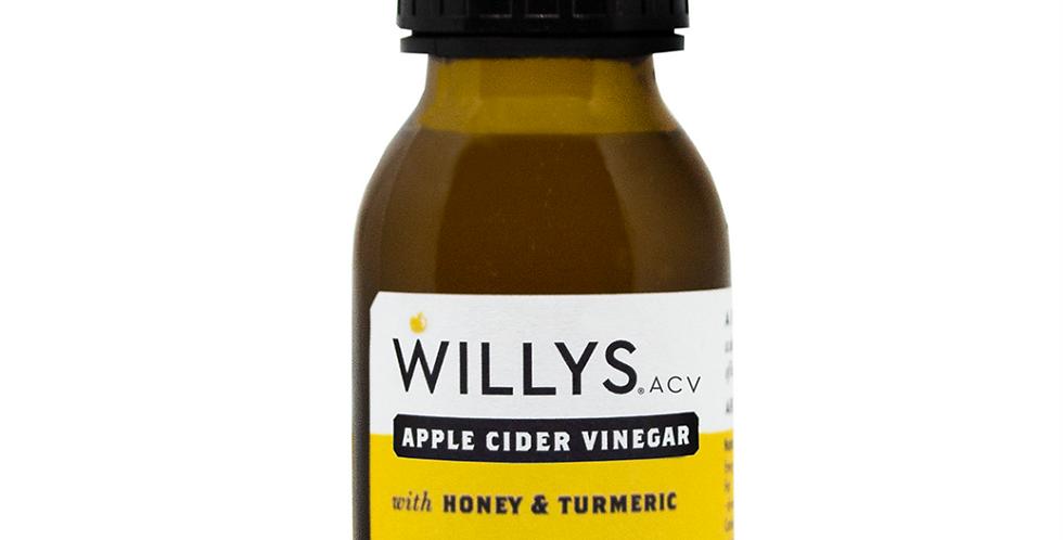 Willy's Honey & Turmeric Vinegar Shot 15 x 50ml