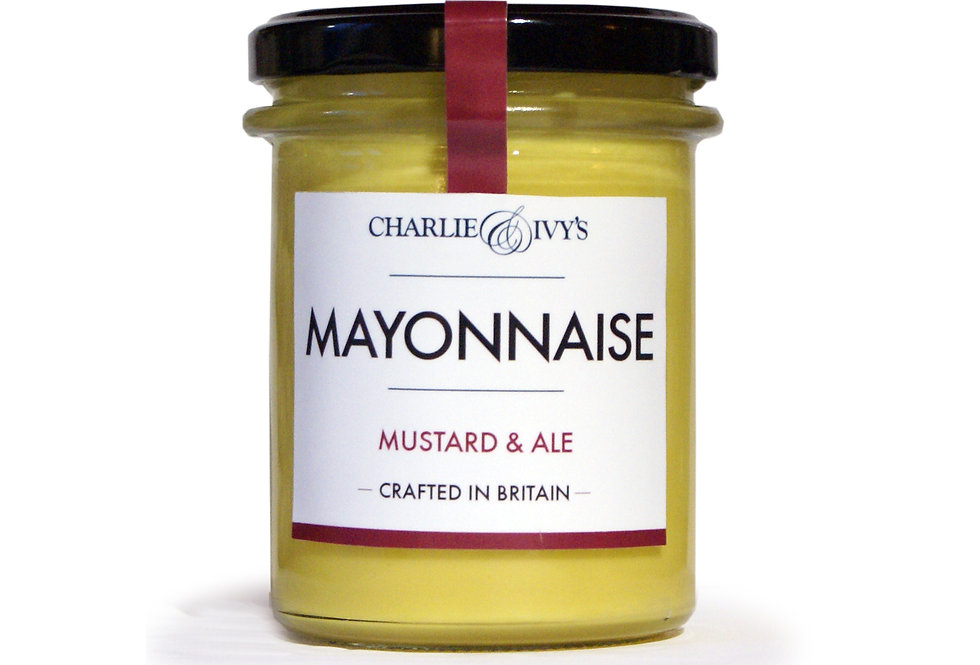 Charlie & Ivy's Mustard & Ale Mayonnaise - 190g