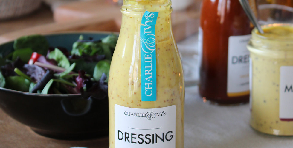 Charlie & Ivy's Honey & Mustard Dressing - 250ml