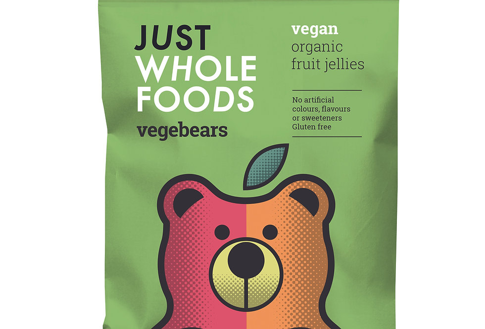 Just Whole Foods Vegebears - 100g