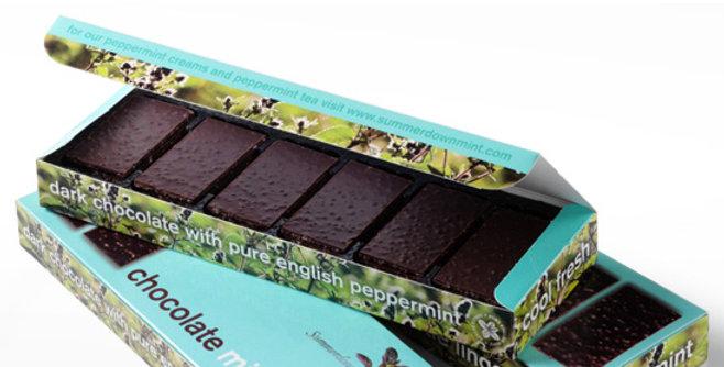 Summerdown Mint - Dark Chocolate Peppermint Crisp - 200g