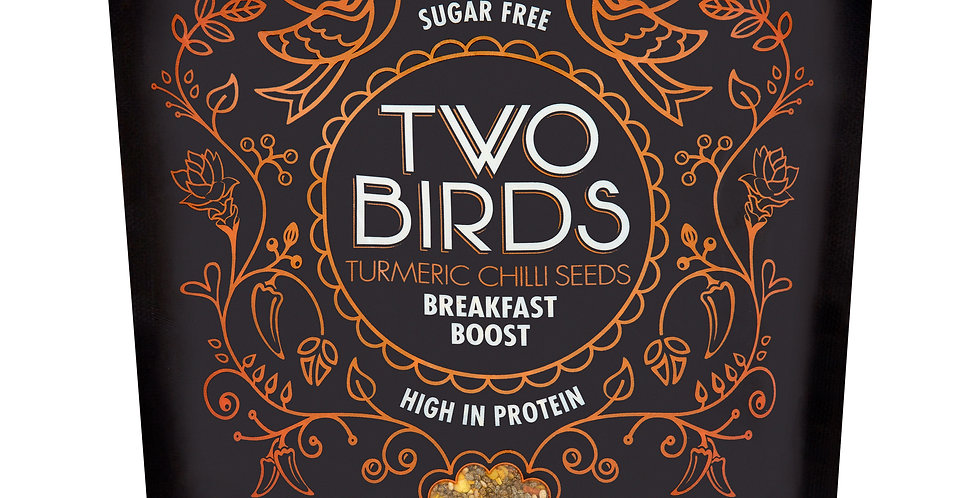 Two Birds - Turmeric Chilli Seeds Breakfast Boost -150g