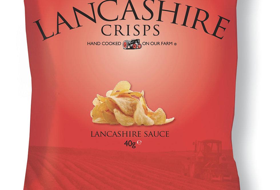 Fiddler's Lancashire Crisps - Lancashire Sauce - 150g