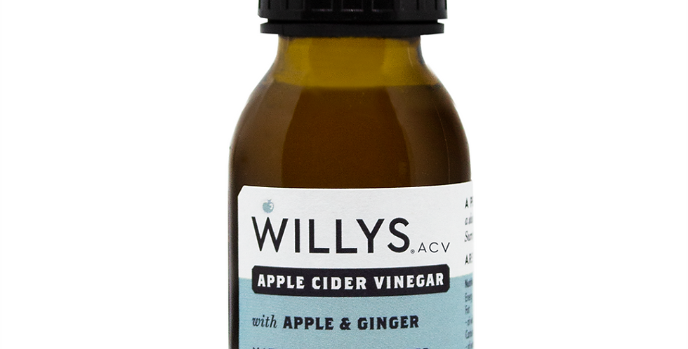 Apple and Ginger Apple Cider Vinegar 15 x 50ml
