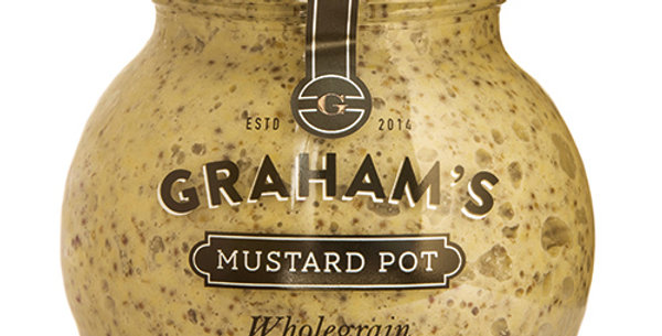 Graham's Wholegrain Mustard - 215g