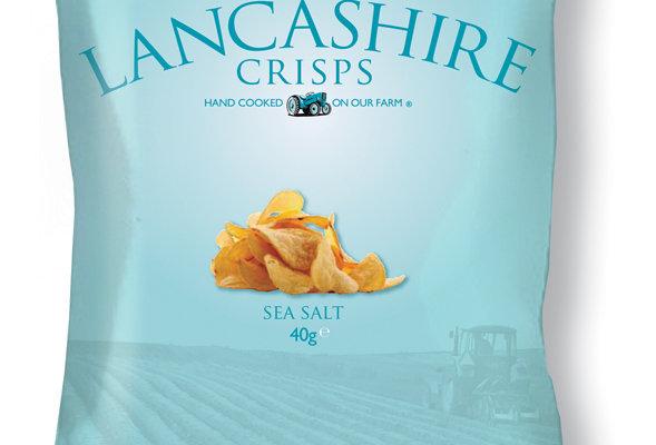 Fiddler's Lancashire Crisps - Sea Salt - 40g