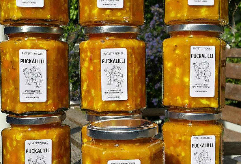 Puckett's Pickles - Puckalilli - 200g
