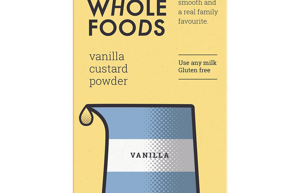 Just Whole Foods Vanilla Custard Powder - 100g
