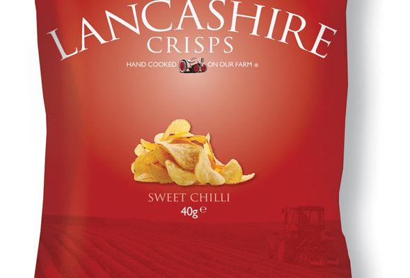 Fiddler's Lancashire Crisps - Sweet Chilli - 150g