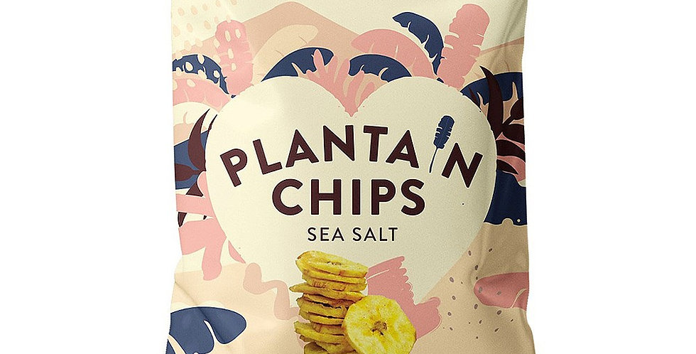 Purely Plantain Crisps - Salted 75g x 12