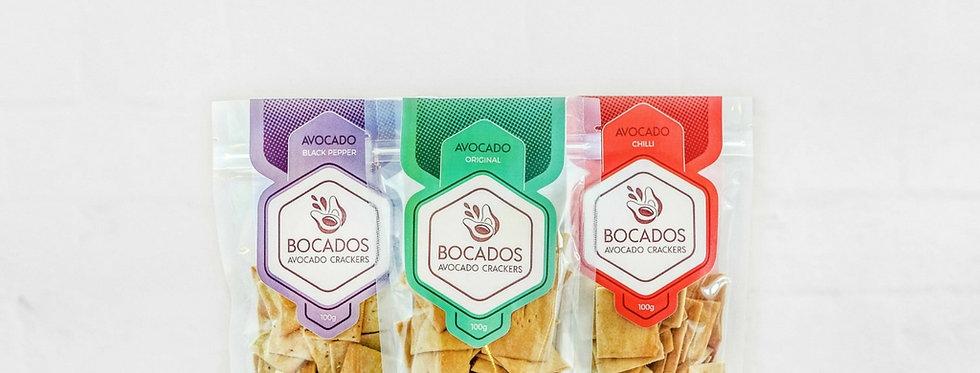 Bocados - one of each!