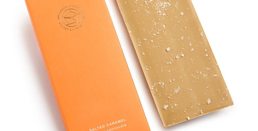The Chocolate Society - Salted Caramel & Blonde Chocolate - 65g