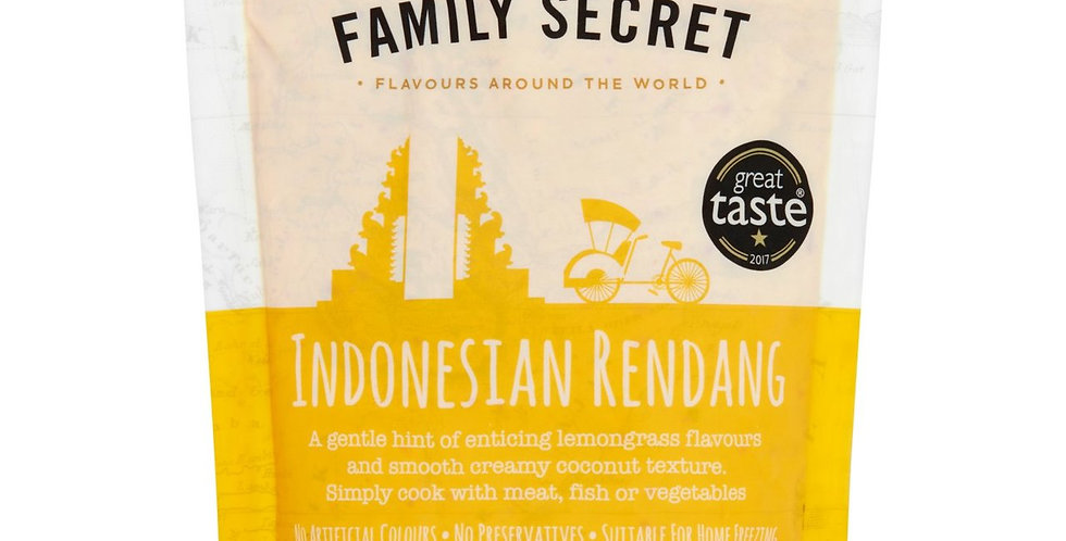 Family Secret - Indonesian Rendang